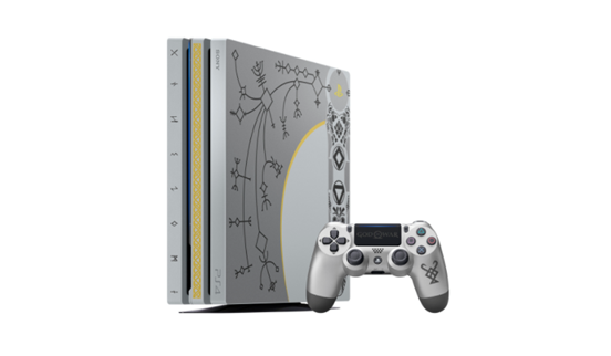 Introducing The God Of War Limited Edition PS4 Pro Bundle!