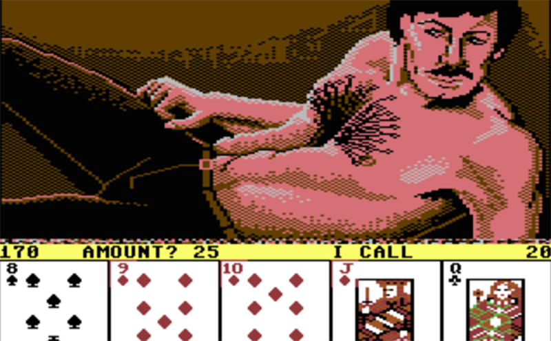 Male Strip Poker on Game On