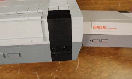 Someone Built An Old School NES Out Of Lego And It's Brilliant