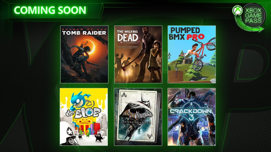 Xbox Game Pass Additions February 2019