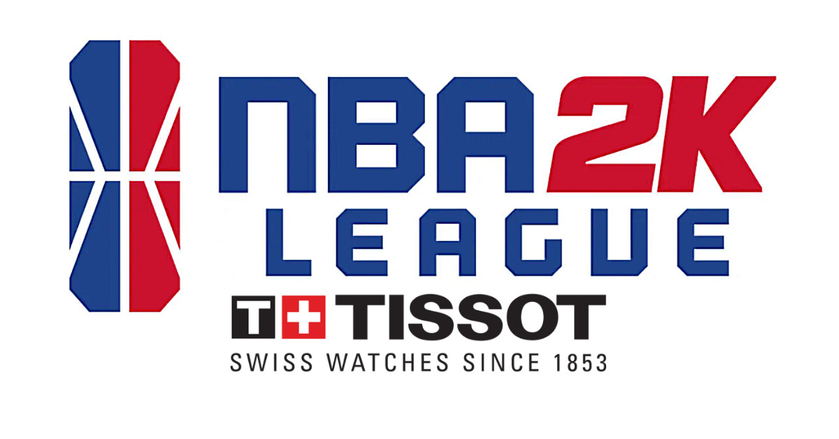 NBA 2K League and Tissot Partnership Banner