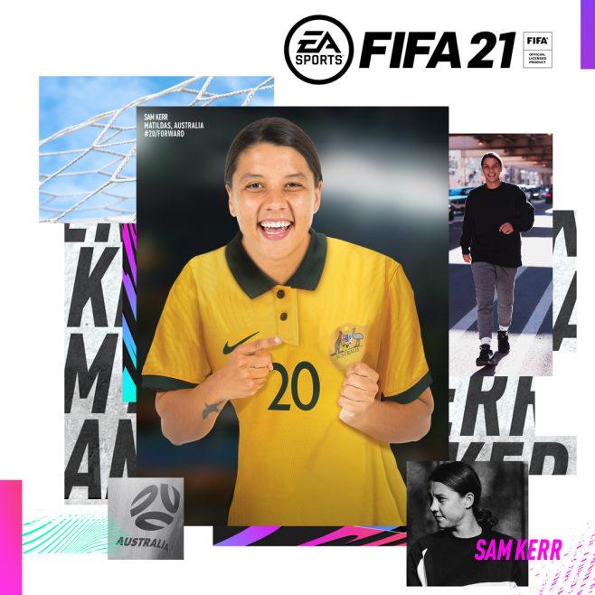 Sam Kerr FIFA 21 Ambassador