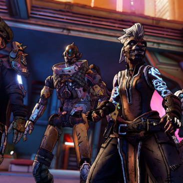 Borderlands 3 New Look Vault Hunters
