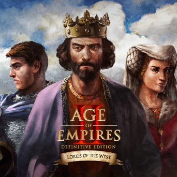 AOE II DE: Lords of the West DLC Title image
