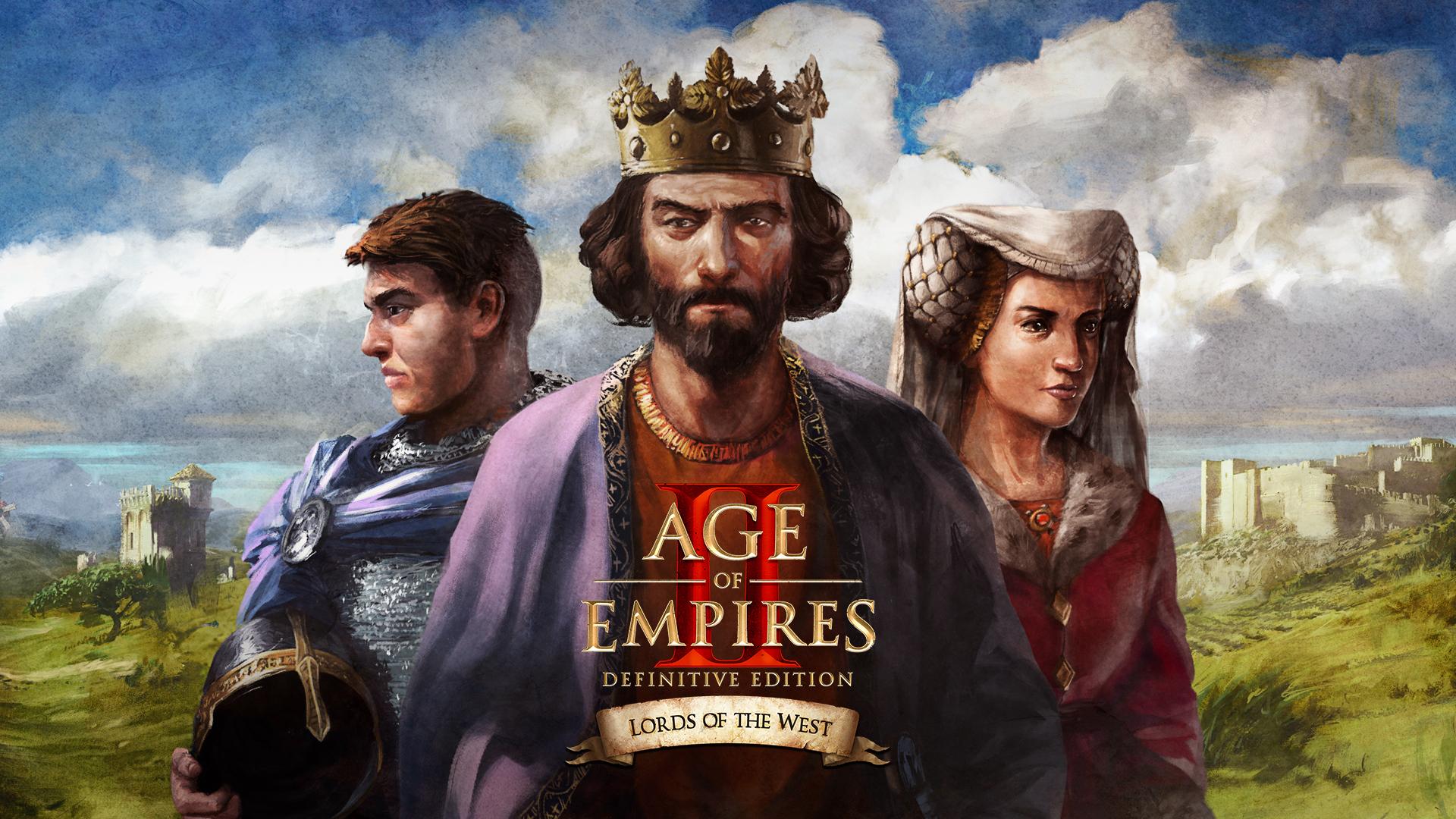 AOE II DE: Lords of the West DLC Title image