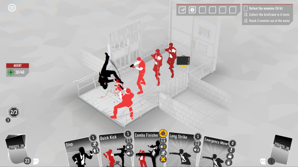 Gameplay screenshot of Fights In Tight Spaces