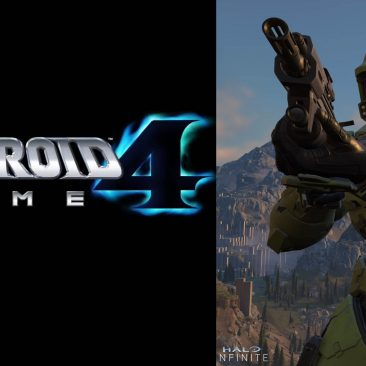 Metroid Prime 4 and Halo Infinte images