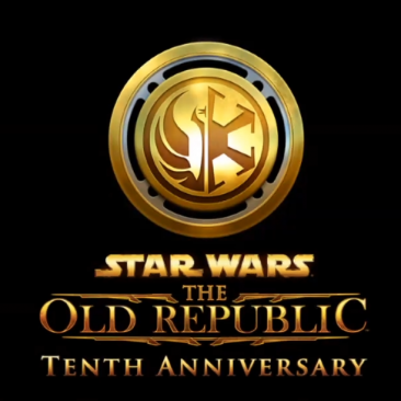 SWTOR Logo with 10th Anniversary text